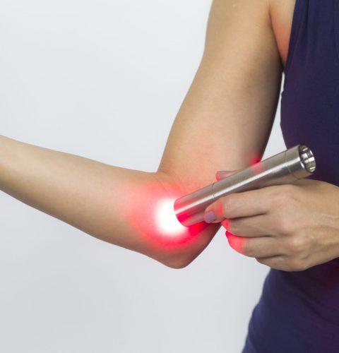Tendlite being used on elbow